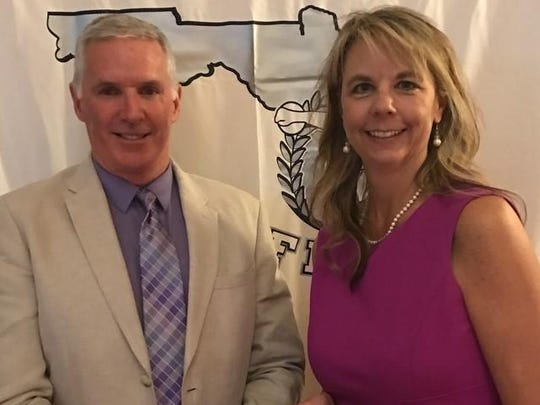 Maclay athletic director Jake von Scherrer and communications director Kim McWilliams were honored recently by the Florida Interscholastic Athletic Administrators Association for their respective contributions.