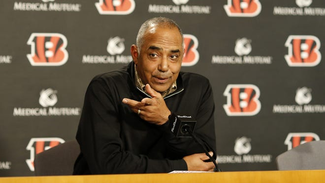Cincinnati Bengals head coach Marvin Lewis is a member of the NFL's competition committee and has a large say in which rule proposals are submitted.