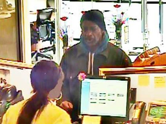 SOK Sfd Bank Robber