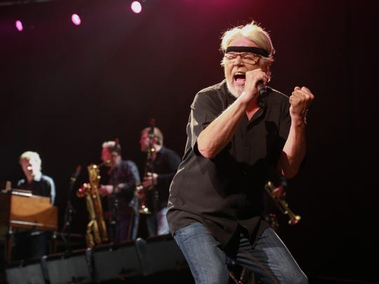 Bob Seger with the Silver Bullet Band at the Palace last month.