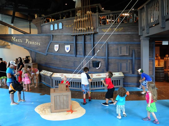 Drop off your kids at The Children's Museum of the Treasure Coast in Jensen Beach for dinner and a movie.