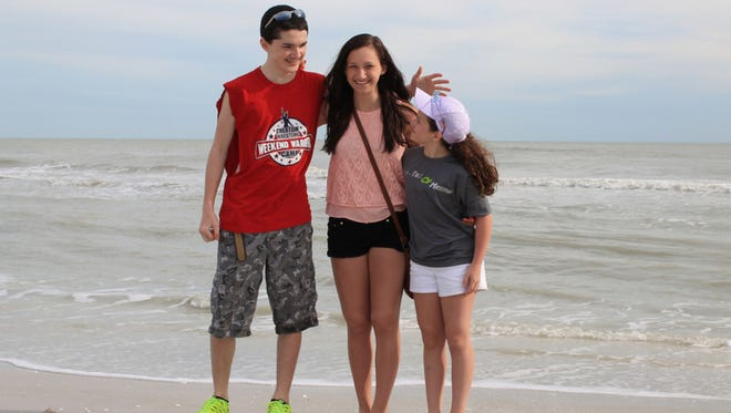 Spring break was nearly ruined for Ann Marie Walkington and her children, Austin 14, Erin 17, and Savannah 10.