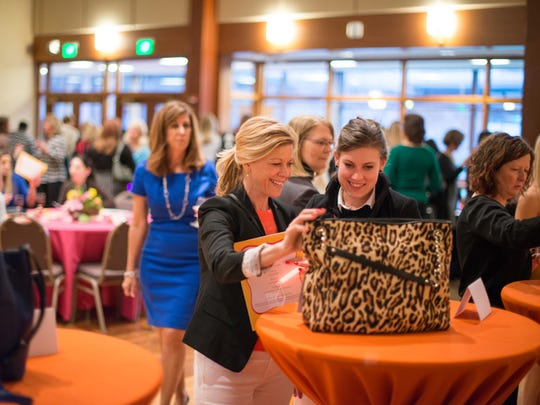 The annual Women's Foundation of the Genesee Valley A Purse for Change event.