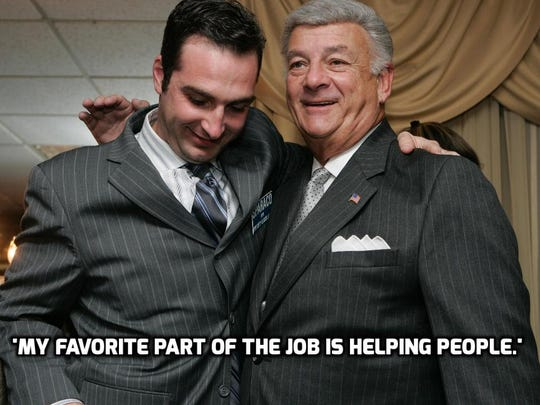 'My favorite part of the job is helping people.'
