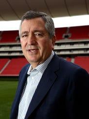 Jorge Vergara, propietario de Chivas.