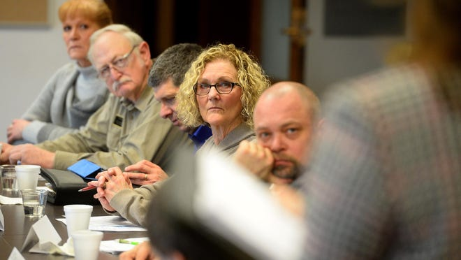 State legislators from the area meet Thursday with Great Falls and Cascade County officials in the Great Falls Civic Center.