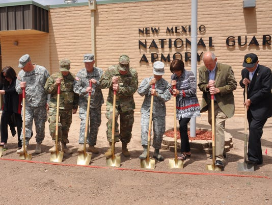 NM National Guard Ground Breaking