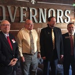Monroe City Council District 1 candidates Jay Marx and Michael Echols joined The News-Star's Mark Henderson and The Radio People's Griffin Scott for a candidate forum Friday at Governor's