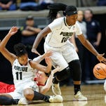 Cold shooting dooms Purdue women's basketball in 66-60 loss to Ball State
