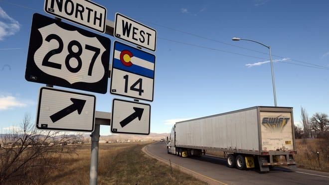 Nearly half of the fatal crashes that happened in the last decade on highways in Larimer County happened along U.S. Highway 287.
