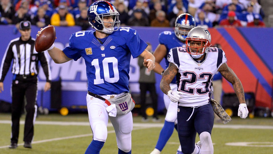 Fantasy Football Studs And Duds Eli Manning Will Perform