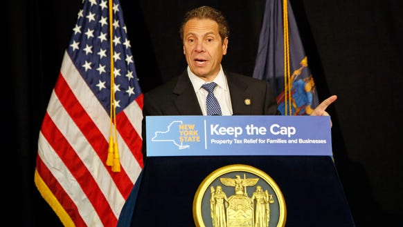 Governor Andrew M. Cuomo speaks about the property