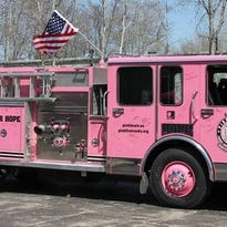 Pink Heals of Manitowoc County's Pink Fire Truck is named after Colton Steinhorst, who lost his battle to Neuroblastoma on Sept. 3, 2013. The truck is meant to be a symbol of true love and hope for those coping with cancer.