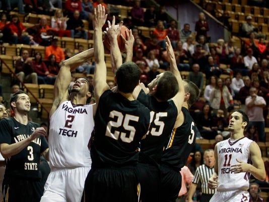 NCAA Basketball: Appalachian State at Virginia Tech