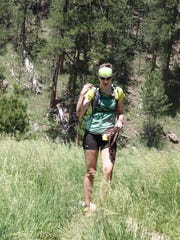 Jessica Pendleton during the Black Hills 100, about