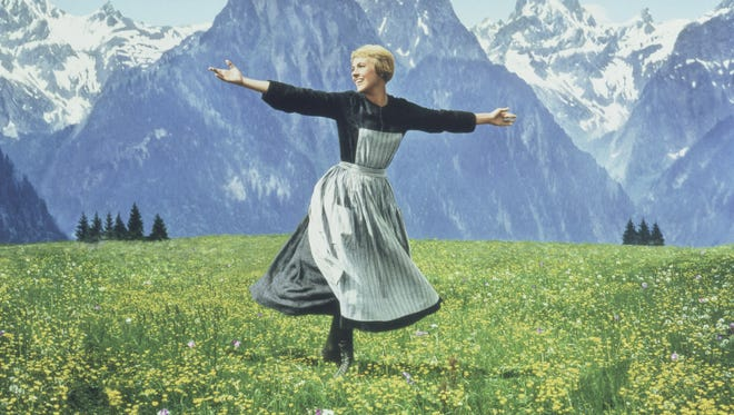 """Julie Andrews in """"The Sound of Music."""""""