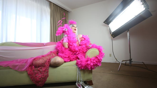 """After going in and out of retirement for years, 82-year-old female impersonator James """"Gypsy"""" Haake will be on stage again appearing in the New Year's Eve performance of Carnival Cabaret at Oscar's Cafe & Bar."""