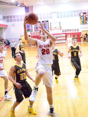 SJCC's Spencer Harrison had 12 points and 11 rebounds Friday.