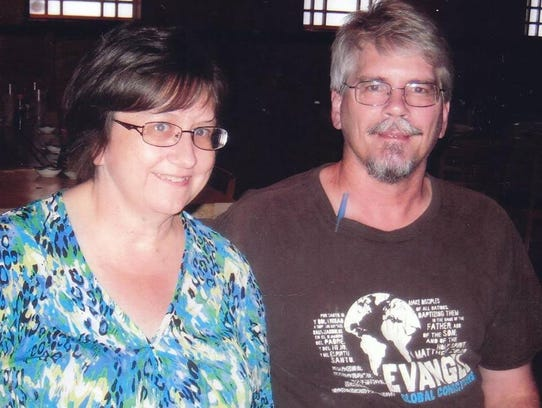Donna and Tim Trower