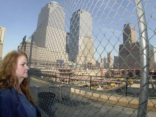 Margaret Gramly visits Ground Zero for only the second