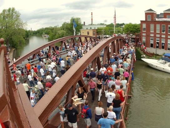 Fairport Canal Days, which is held in June.