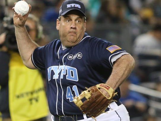 The True Blue Benefit Softball Game at Yankee Stadium