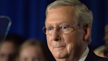 Republican Mitch McConnell is defending the U.S. Senate seat he's held since 1984