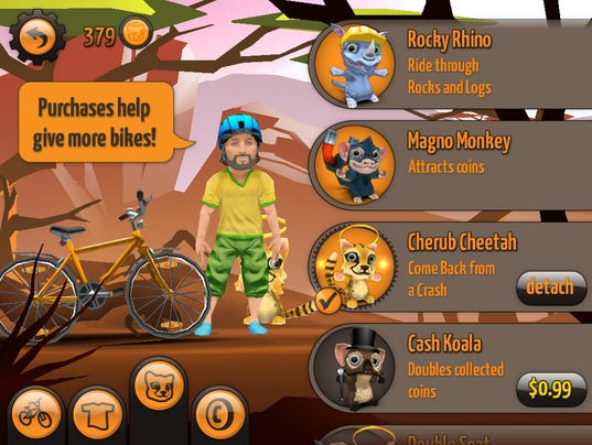 Sidekick Cycle screenshot 1