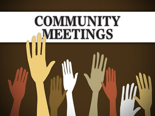 Presto graphic Community Meetings