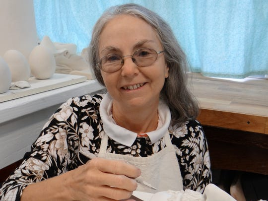 Plainsboro resident and artist J. Marion Simmons exhibits