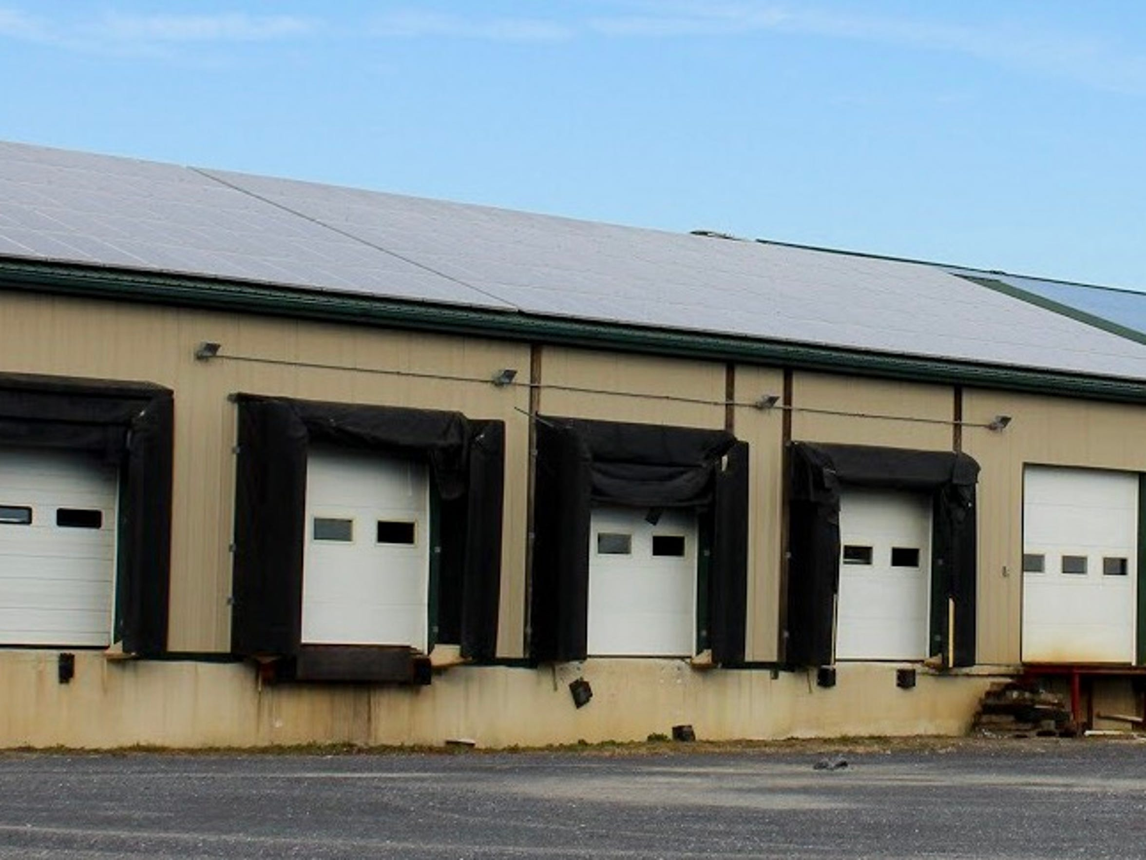 Lady Moon Farms installed solar panels on its Chambersburg farm's 20,000 square-foot packinghouse in 2010. Vice President Anais Beddard said the company made the decision to go solar to help address the effects of climate change.