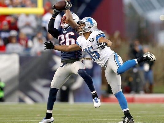 NFL: Detroit Lions at New England Patriots