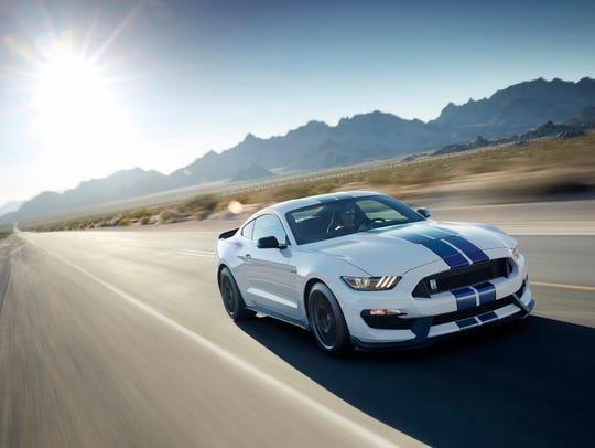 The 2017 Ford Mustang.