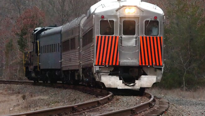 Cape May Seashore Lines' Easter Bunny Express will ride the rails between Richland and Tuckahoe on March 26.