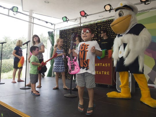 RT Star's Back To School Party at Riverside Theatre in Vero Beach is 10 a.m.-2 p.m. Saturday, featuring live entertainment, games, contests, character meet and greets, bounce slides, vision testing, county school information tents and more.