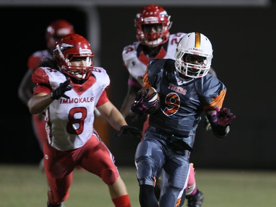 Dunbar, which sits at No. 3 in the Fab 5, travels to