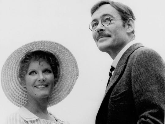 Petula Clark and Peter O'Toole play spouses in the