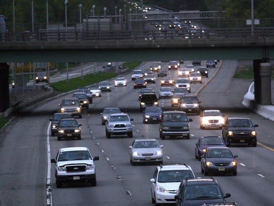 FILE PHOTO Traffic on Interstate 80 in Parsippany in