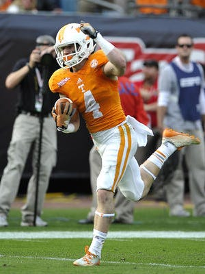 Butch Jones said wide receiver Vic Wharton is exploring other options Wednesday.