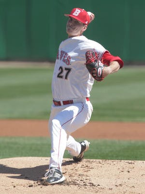 Elliot Ashbeck is on the road to recovery from Tommy John surgery.