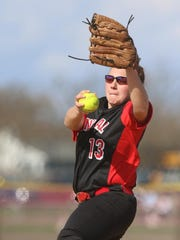 Hunterdon Central freshman Kylie Gletow showed the composure of a veteran in her first varsity game