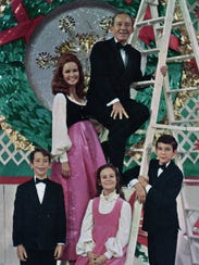 Bing Crosby and family Christmas cards.
