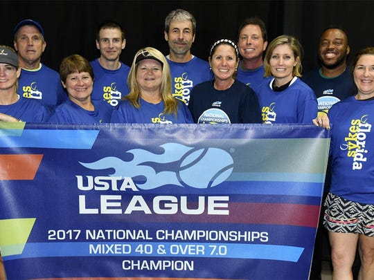 The Tallahassee Mixed 40 & Over national champions.