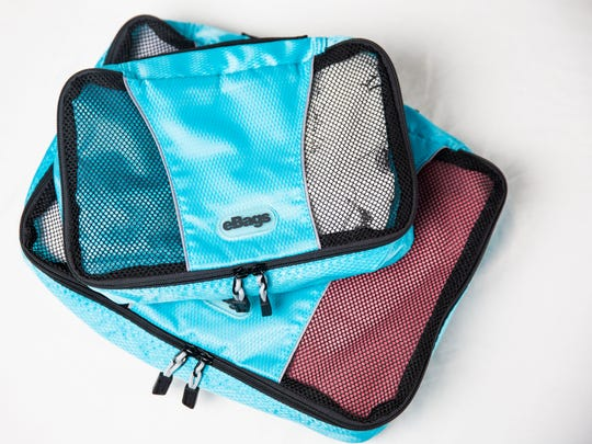 Marla Ottenstein's  eBags soft-sided packing cubes
