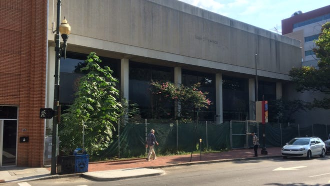 MRK Investments, which owns the former Bank of America building in downtown Asheville, says it has plans to turn the property into a 60-room hotel.