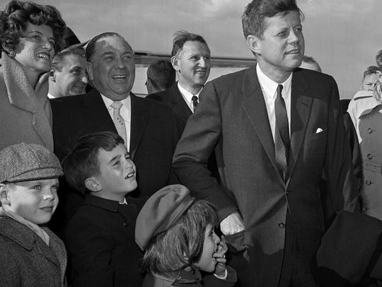 In this April 28, 1961, file photo, President John