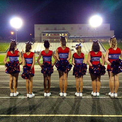 WNC Youth Football and Cheerleading offers sideline cheerleading for kids age 4-13. This is the West Henderson squad