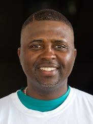 Head football coach Tim Caffey, Jensen Beach High School
