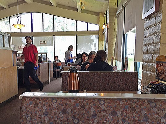 The dining room at IHOP, Salinas
