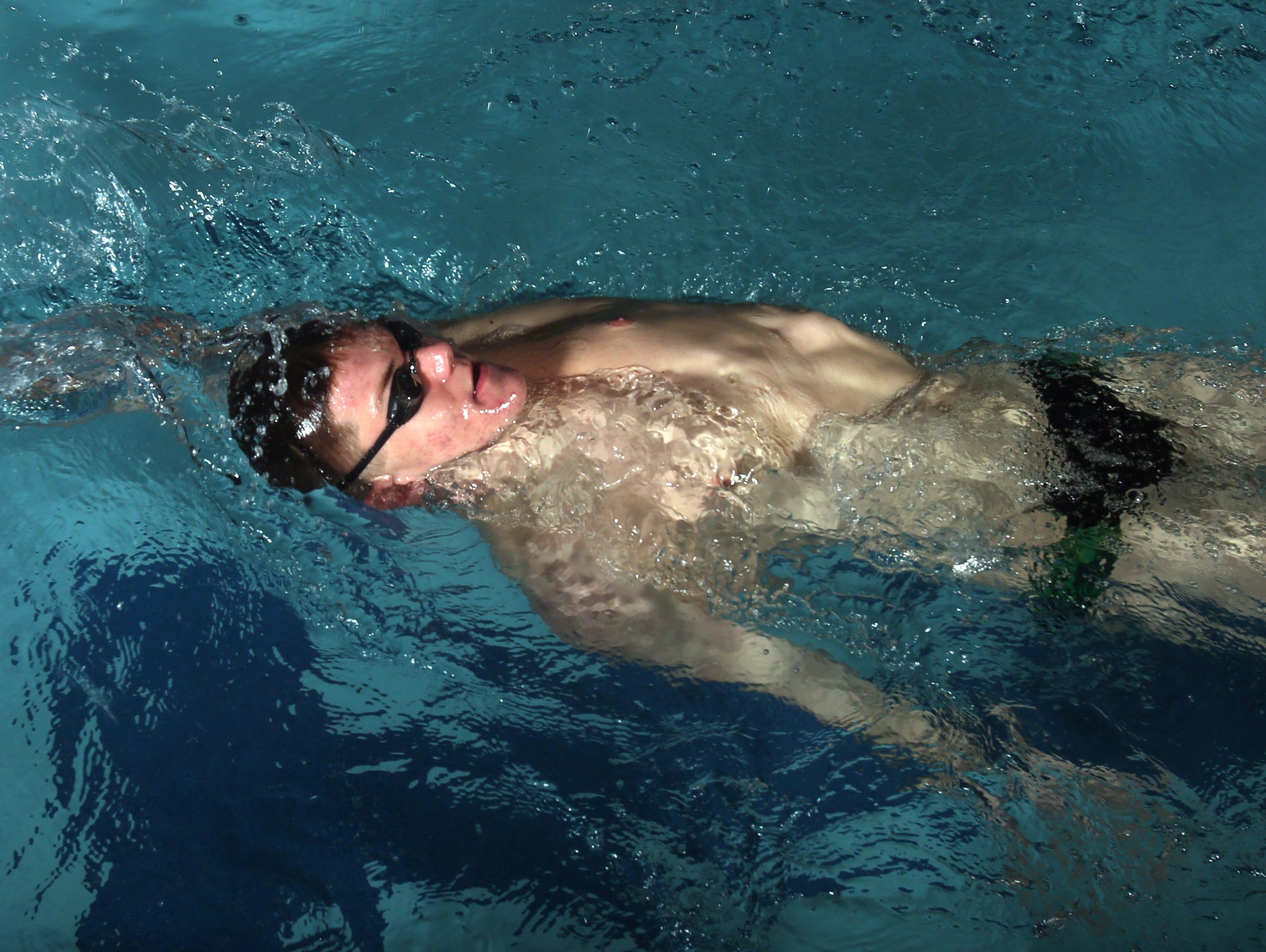 Horace Greeley junior Tyler Hill, photographed March 30, 3026, is the Westchester/Putnam Swimmer of the Year.